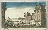 Peep-show, Balbec. 4, Ruines du Grand Temple de Balbec Sur Lesquelles les Turcs Ont Élevé des Tours, 60.