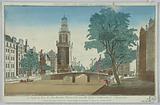 Peep-show, Le Cingle, la Tour de Jan-Rooden-Poort, et la Nouvelle Eglist Lutherienne, à Amsterdam, No 15