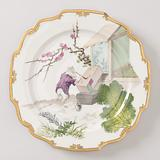 Plate with Rat Painting, from a Set Inspired by Hokusai
