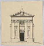 Elevation of a Small Church