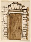 Elevation of a Doorcase