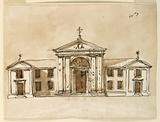 Elevation of a Church for Monte Vergine