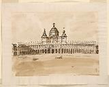 Design for a Royal Palace in the Style of Borromini