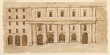 Elevation of a Town Mansion