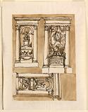 Three tombs