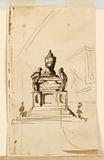 Three sepulchral monuments