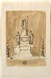 Monument of King Louis XVI of France