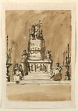 Funeral Decorations for King Louis XVI of France