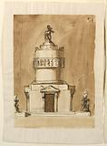 Design for a Sepulchral Monument of King Louix XVI of France