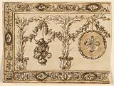 Design for an Embroidered Frontal
