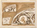 Design for the Decoration of Barrel Vaulted Ceiling