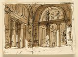 Stage Design for a Classical Palace Interior