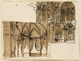 Stage Design for the Interior of a Gothic Building