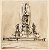 Sketch, a Fountain