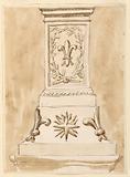 Pedestal of a column