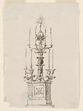 Candelabrum, Probably for Rooms in the Palazzo Altieri, Rome