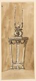 Table with candlestick