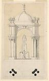Design for a Fountain in a Pavilion