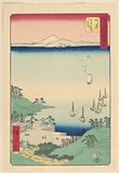 Arai From the series the 53 Stations of Tokaido