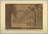 "Tremal Naig's Choultry, Madura, from ""Oriental Scenery: Twenty Four Views in Hindoostan"""
