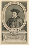 Portrait of Joannes Miraeus, Bishop of Antwerp