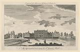 The Queen's Palace in St James's Park, from Walter Harrison's History of London