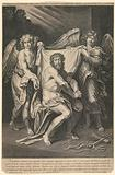 Christ With the Instruments of the Flagillation Attended by Two Angels