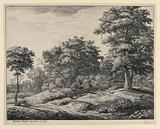 Landscape with a Cow-Herd Asleep on a Grassy Bank