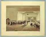 "Dining Hall, Asylum, from ""Ackermann's Repository"""