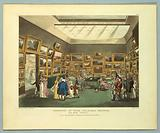 """Exhibition of Watercoloured Drawings, from """"Ackermann's Repository"""""""