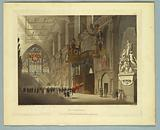 """Guildhall, from """"Ackermann's Repository"""""""
