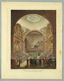 """Common Council Chamber, Guildhall, from """"Ackermann's Repository"""""""