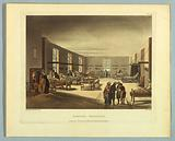 """Hospital, Middlesex, from """"Ackermann's Repository"""""""