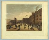 """Kings Bench Prison, from """"Ackermann's Repository"""""""