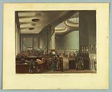 "Lloyds Subscription Room, from ""Ackermann's Repository"""