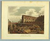 "Leaden Hall Market, from ""Ackermann's Repository"""