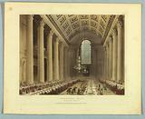 "Egyptian Hall, Mansion House, from ""Ackermann's Repository"""