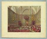 "House of Lords, from ""Ackermann's Repository"""
