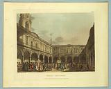 """Royal Exchange, from """"Ackermann's Repository"""""""