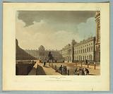 "Somerset House, Strand, from ""Ackermann's Repository"""