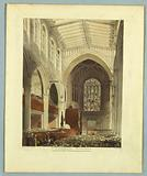 """St Margarets, Westminster, from """"Ackermann's Repository"""""""