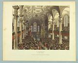 """St Martins, in the Fields, from """"Ackermann's Repository"""""""