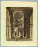 """St Paul's Cathedral, from """"Ackermann's Repository"""""""