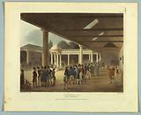 """Tattersall's Horse Repository, from """"Ackermann's Repository"""""""