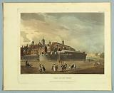 """View of the Tower, from """"Ackermann's Repository"""""""