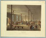 """Workhouse, St James Parish, from """"Ackermann's Repository"""""""