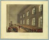 """Military College, Chelsea, from """"Ackermann's Repository"""""""