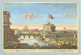 The Aelian Bridge and Castle of St Angelo
