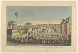 The Entrance of His Majesty Louis XVIII into Paris, 3rd May, 1814