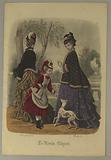 Fashion Plate from Le Monde Elégant
